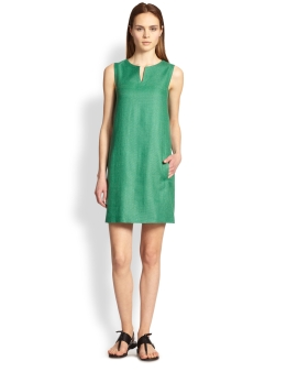 maxmara-green-stretch-linen-dress-product-1-18939766-1-968323229-normal