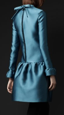 Burberry-Prorsum-silk-tunic-dress-