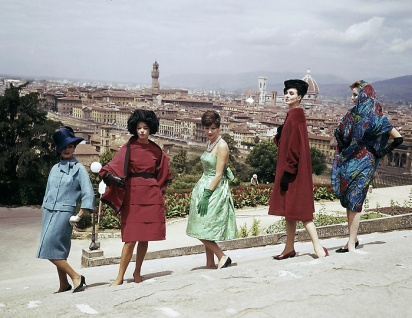Italian fashion dress in 1967