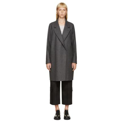 63-MM6-Maison-Margiela-Women-s-Grey-Wool-Men-s-Coat-1