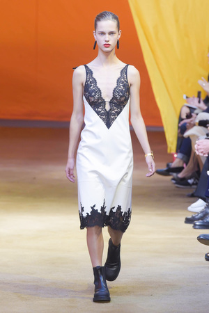 Celine Fashion Show, Ready to Wear Collection Spring Summer 2016 in Paris