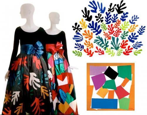 moda-e-arte-yves-saint-laurent-matisse-lescargot-e-la-gerbe-1953