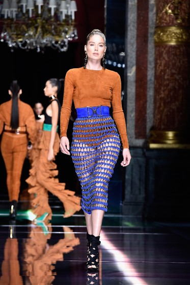 Balmain : Runway - Paris Fashion Week Womenswear Spring/Summer 2016