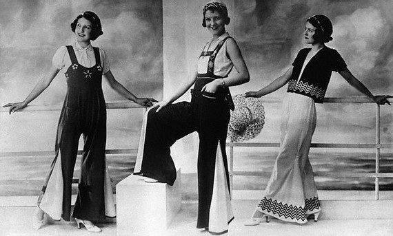 Ladies-Trouser-Suit-and-Dungarees-1920s