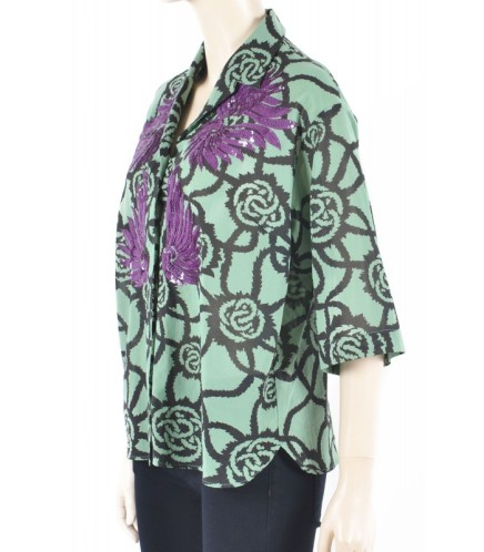 dries-van-noten-shirts-purple-sequins-shirt-green