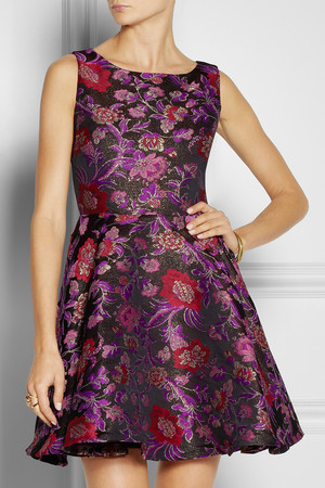 net-a-porter-alice-olivia-foss-cutout-floral-brocade-dress