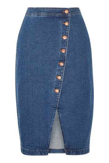 MADEWELL-Stretch-denim-wrap-skirt-£100